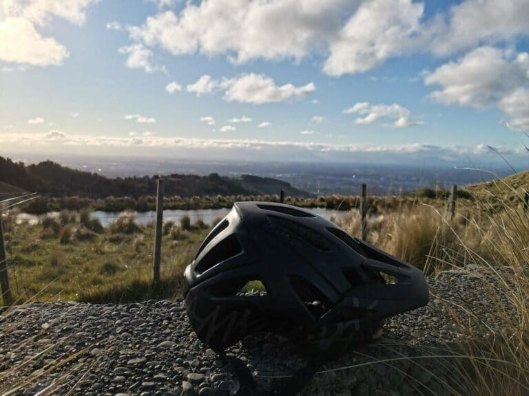 Low Profile Mountain Bike Helmet