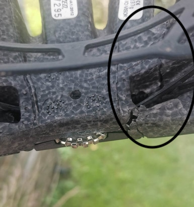 When to Replace a helmet with cracks